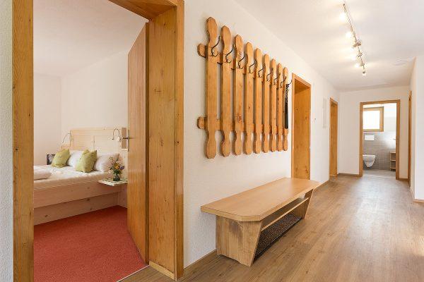 1. Etage mit Schlafzimmern und Sanitärbereich