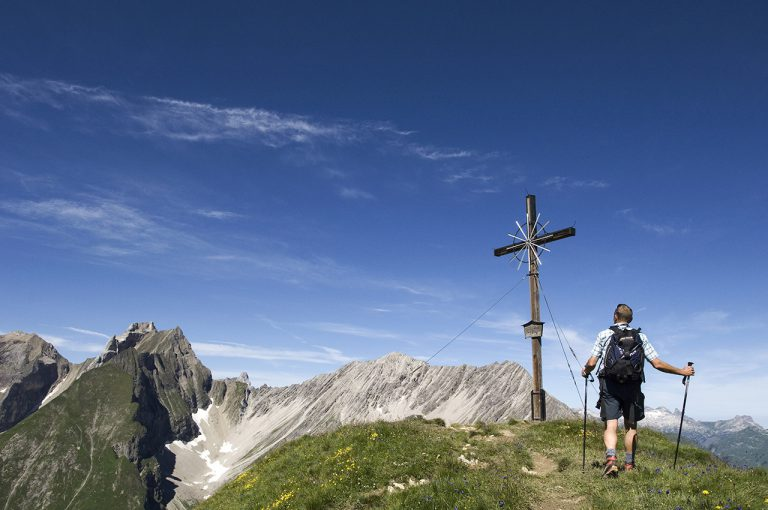 Bergpanorama im Lechtal