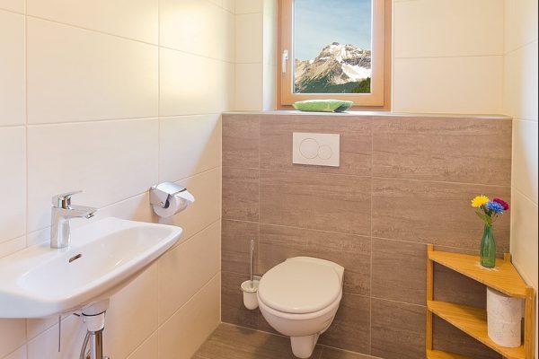 Toilette mit Ausblick :-)