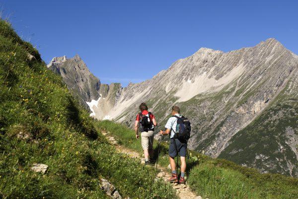 Wandern in Bschlabs Lechtal