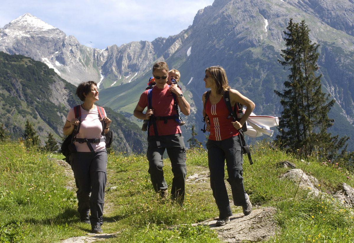 Wandern mit der Familie im Lechtal