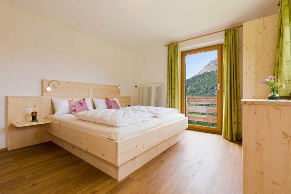 Naturholzschafzimmer im MountainHOME