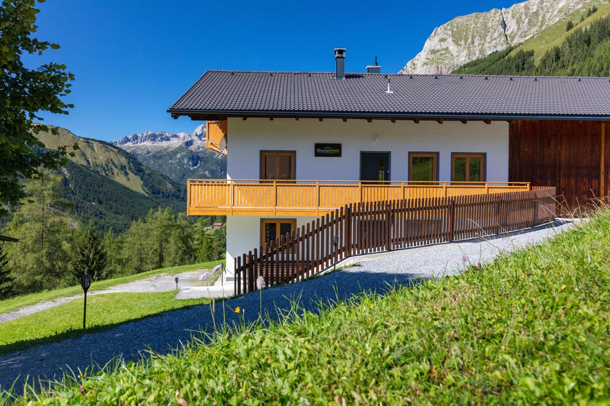 Das alpine Ferienhaus im Lechtal