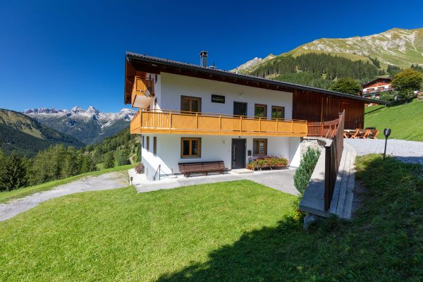 Hütte im Lechtal für 16 Personen