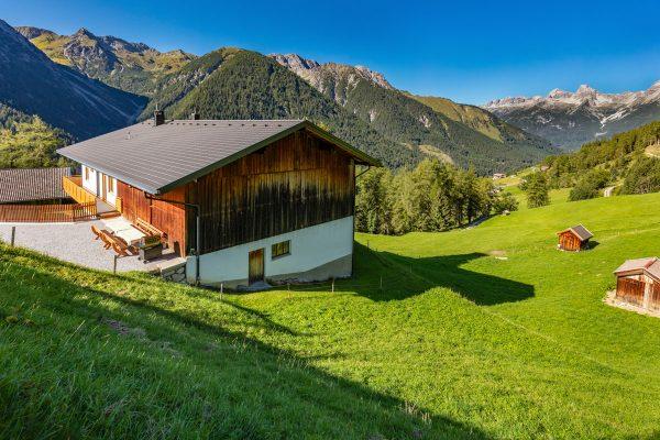 Ausblick auf die Lechtaler Alpen