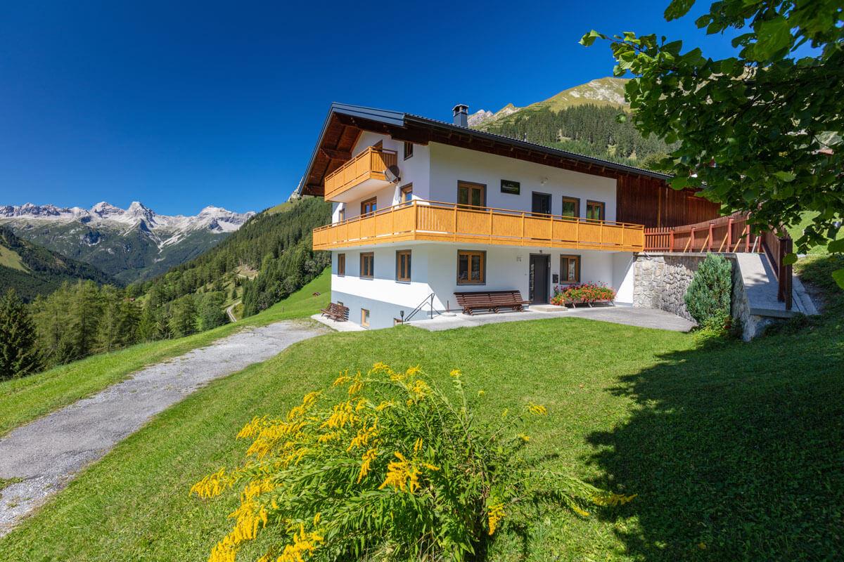 Stefan's MountainHOME Selbstversorgerhaus im Lechtal in Tirol